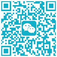 scan and contact with us by wechat