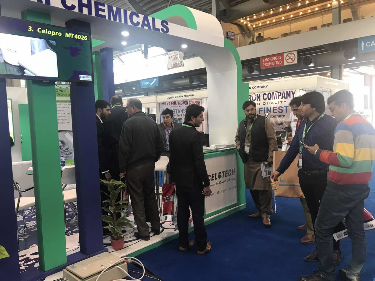 visitors showed interest on Celopro for wall putty, tile bond use