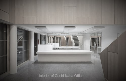 Interior of Naha Office