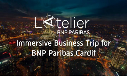 XNode Event - Immersive Business Trip for BNP Paribas Cardif