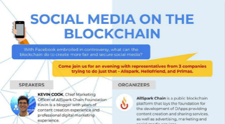Social Media on the Blockchain