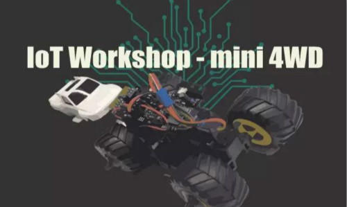 XNode Events - IoT Workshop - mini 4WDⅡ(Japanese Event)