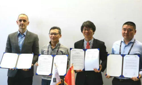MOU Signing Ceremony with Fintech Center Korea