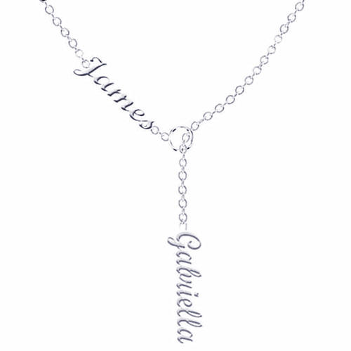 925 silver necklace customized with 2 names gifts for mom