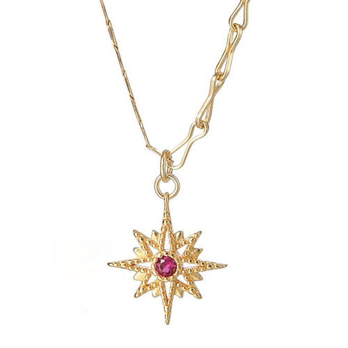 Classic custom star jewellery OEM luxury gold color choker necklace
