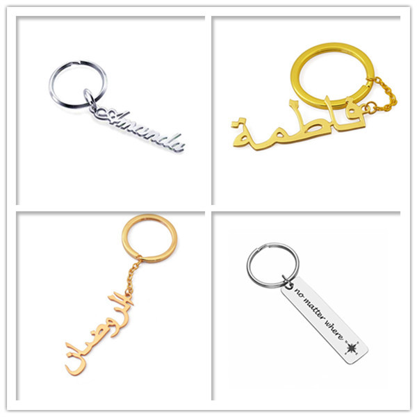 Wholesale custom engraving luggage travel hang tags with chain supplier factory personalized name pendant accessories vendor nameplate keychain lovely dog tag key rings OEM manufacturer in China