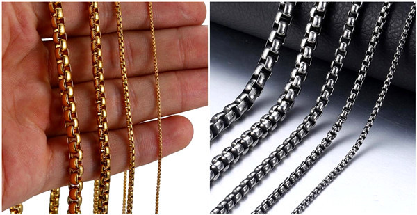 Wholesale sterling silver jewelry chains gold plated rolo link chain necklace china