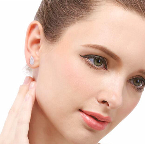 Teardrop earrings wedding women's fashion earrings wholesale