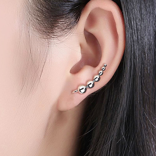 Sterling silver seed beaded earrings exporter wholesale china online