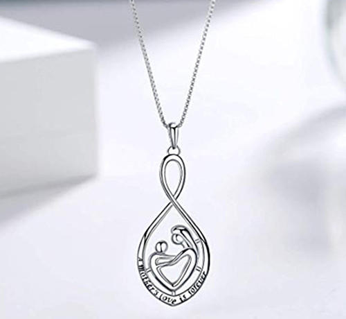 Mother's love necklace silver jewelry vendor exporter china