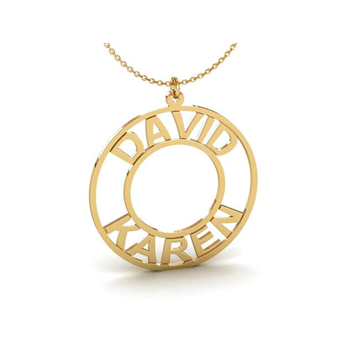 Personalized Name Necklace Custom Baby Necklace Pendant 3 Tiny Oval Necklace