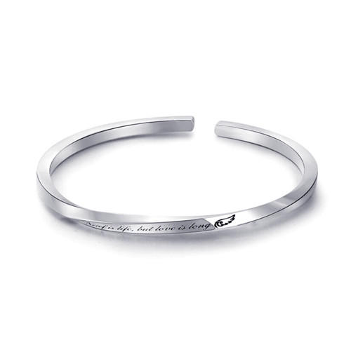 Mobius jewelry 925 solid sterling silver mobius bracelets adjustable twist opening mobius bangle custom made personalized name bracelets