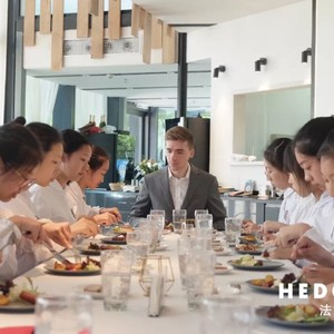 French Table Manners day class for teenage students in Suzhou, May 2019