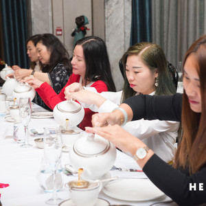 Afternoon Tea Etiquette class in Shanghai, October 2019