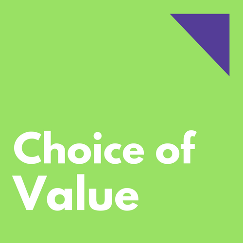 choice of value