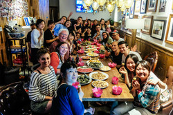Chengdu Lazybones Hostel - Hostel party