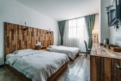 Chengdu Lazybones Hostel - Private rooms