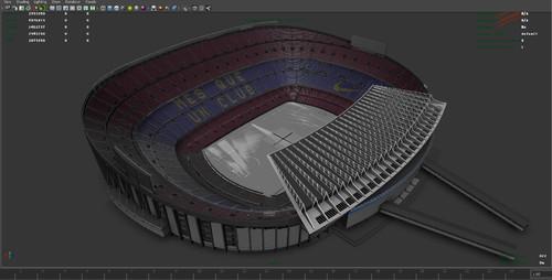 《世界标准足球场》CG数字资产