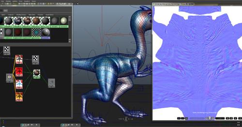 《赛跑恐龙》CG数字资产