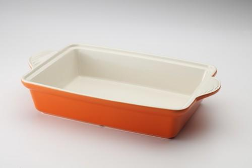 Casserole 方形烤盘-橘