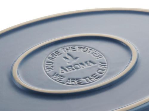 Oval Casserole 圆形烤盘-青瓦灰