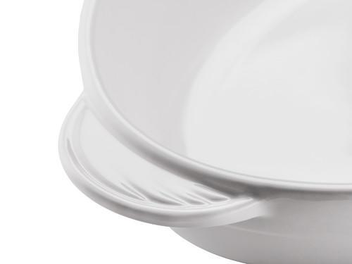 Oval Casserole 圆形烤盘-白
