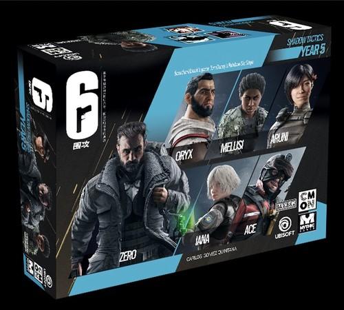彩虹六号主题桌游《6:围攻》简体中文版(10%预付款)预计2022年第三季度发货