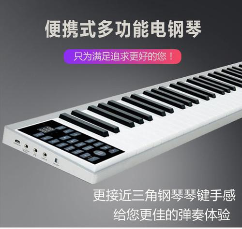 61键初学者入门便携手卷电子钢琴PZ61