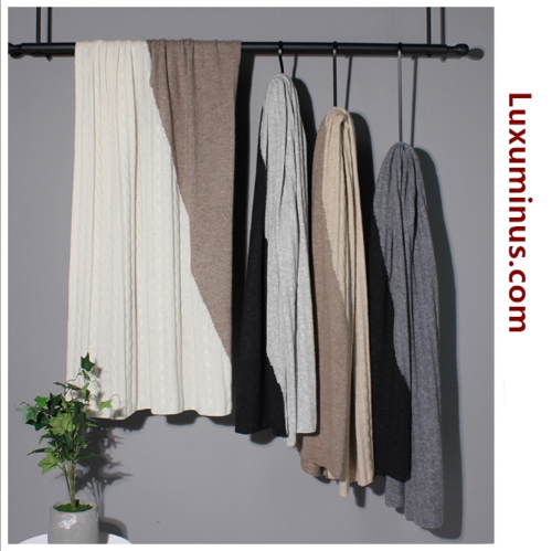 100% Pure Cashmere Shawl | BR8242-4 | 5 Colors