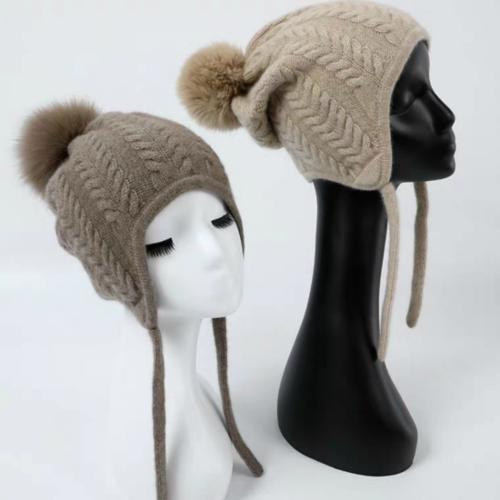 100% Pure Cashmere Hat  | BR8223-2 | 2 Colors