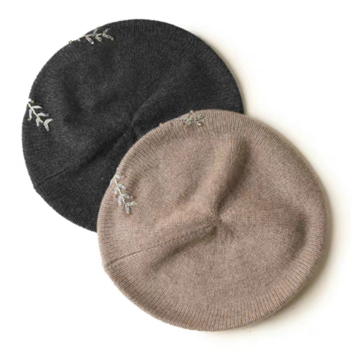100% Pure Cashmere Hat | BR8236-2 | 2 Colors