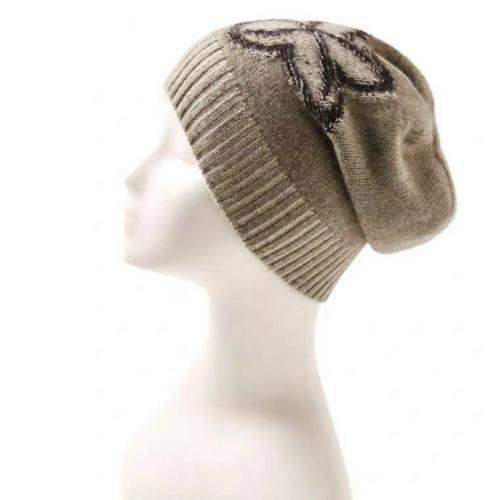 100% Pure Cashmere Hat | BR8238-2 | 2 Colors
