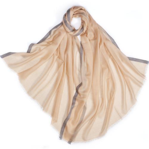 100% Pure Cashmere Shawl | SC-AOC | 2 Colors