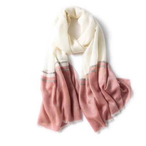 100% Pure Cashmere Shawl | SC-AOR | 5 Colors