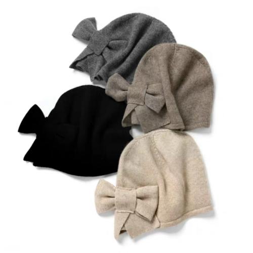 100% Pure Cashmere Hat  | BR8227-4 | 4 Colors