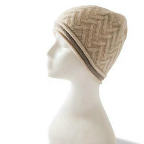 100% Pure Cashmere Hat   BR8243X-2