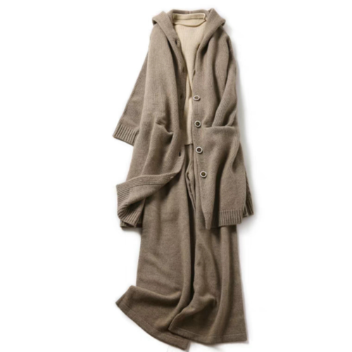 100% Cashmere Long Cardigan | KC-5Y204M33