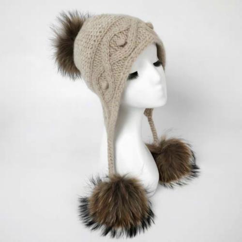 100% Pure Cashmere Hat  | BR8220