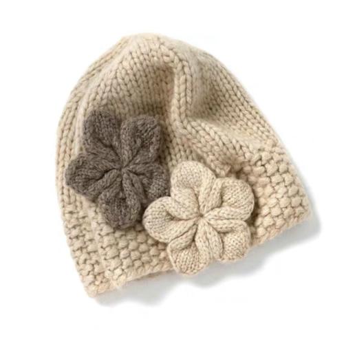 100% Pure Cashmere Hat  | BR8222-2 | 2 Colors