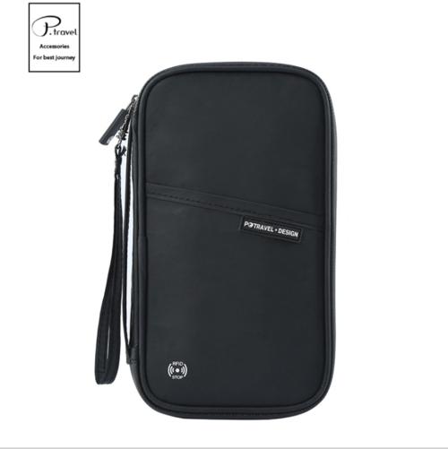 P.travel 新品上市杜邦纸TPU防水拉链 旅行收纳证件袋 RFID护照包