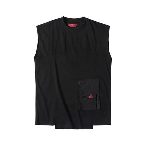 ENSHADOWER隐蔽者新款新品结构无袖男士T恤背心夏季运动坎肩汗衫