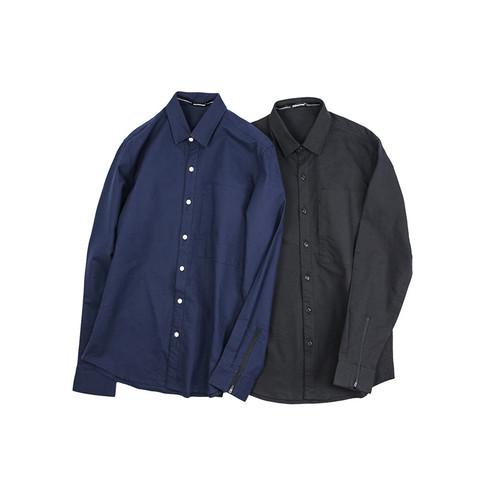 ENSHADOWER隐蔽者新款2017SS牛津纺长袖衬衫青年潮流休闲男士衬衣