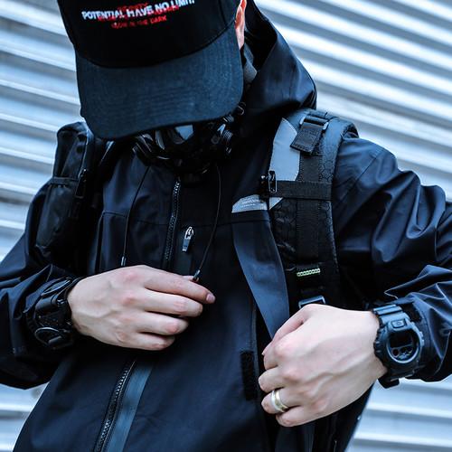ENSHADOWER隐蔽者潮牌机能眼镜蛇快拆扣手环多功能手腕带工装