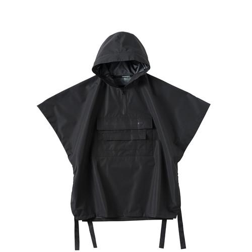 ENSHADOWER隐蔽者潮牌水泥印花防水斗篷压胶外套男机能