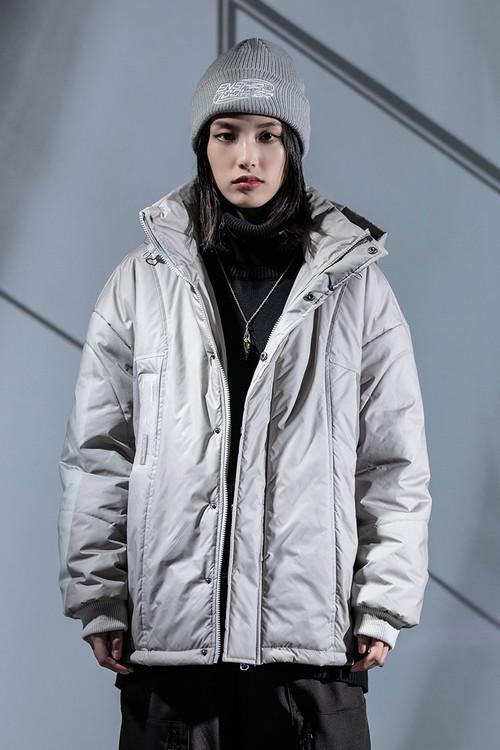 ENSHADOWER隐蔽者冬季加厚棉衣潮牌温变绗缝棉服男女情侣工装棉袄