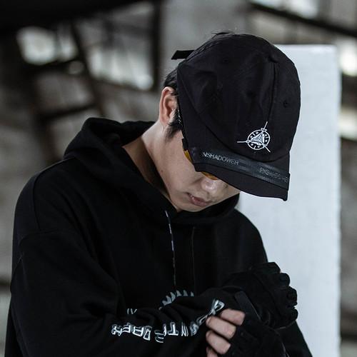 ENSHADOWER隐蔽者新款绣花logo折檐帽户外遮阳鸭舌帽