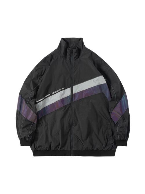 ENSHADOWER隐蔽者潮流镭射反光条夹克机能国潮外套男休闲运动上衣