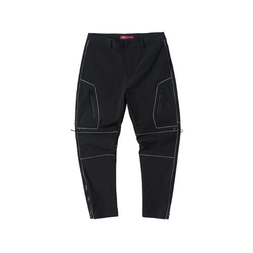 ENSHADOWER隐蔽者新品反光条分割拉链小脚裤男潮流宽松运动休闲裤