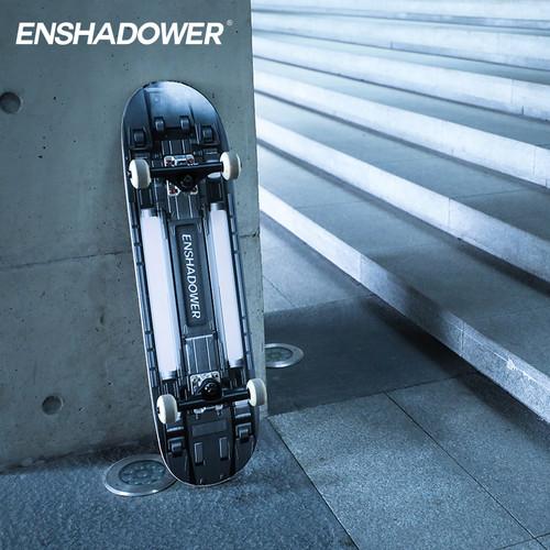 ENSHADOWER隐蔽者RAD联名立体太空模块双翘光感变色滑板(单板面)
