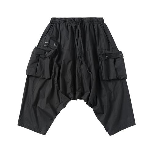 ENSHADOWER隐蔽者脏洗八分垮裤